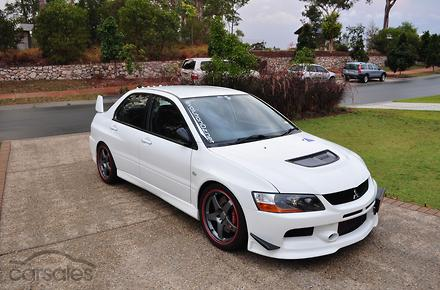 2007 mitsubishi lancer evolution ix cy manual 4wd my07. Black Bedroom Furniture Sets. Home Design Ideas