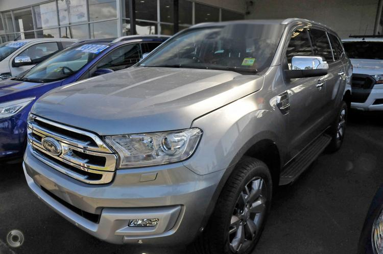 2017 Ford Everest Titanium UA Auto 4WD