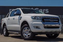 2017 Ford Ranger XLT PX MkII Manual 4x4 Double Cab Manual