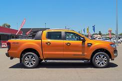 2017 Ford Ranger Wildtrak PX MkII Auto 4x4 Double Cab Automatic