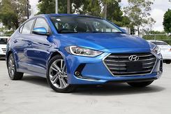2018 Hyundai Elantra Elite Auto MY18 Automatic