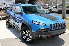 2017 Jeep Cherokee Trailhawk Auto 4x4 MY18 Automatic