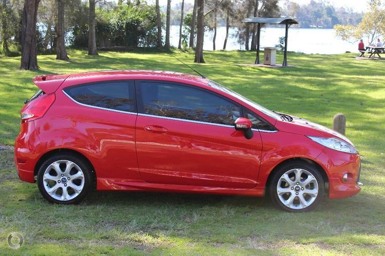 2009 Ford Fiesta Zetec WS Manual