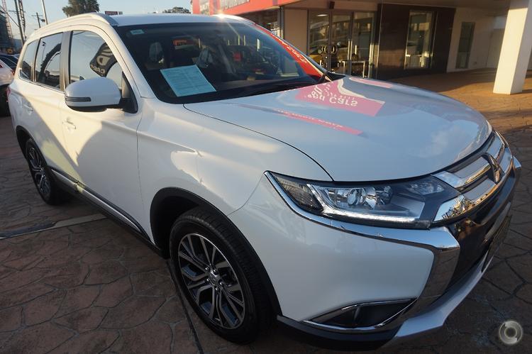 2016 Mitsubishi Outlander LS ZK Auto 4WD MY16