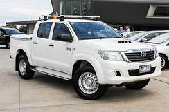 2012 Toyota Hilux SR Auto 4x4 MY12 Double Cab Automatic