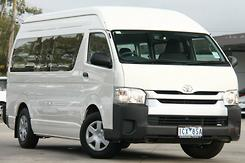 2014 Toyota Hiace Commuter Super LWB Auto MY14 Automatic