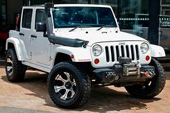 2013 Jeep Wrangler Unlimited Overland Auto 4x4 MY13 Automatic