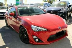 2014 Toyota 86 GTS Manual MY14 Manual