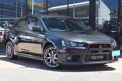 2010 Mitsubishi Lancer Evolution MR CJ Auto 4WD MY10 Automatic