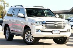 2016 Toyota Landcruiser Sahara Auto 4x4 Automatic