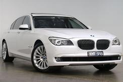 2012 BMW 740Li F02 LWB Auto MY12.5 Automatic