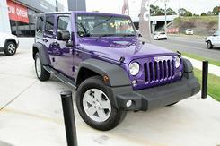2017 Jeep Wrangler Unlimited Sport Auto 4x4 MY17 Automatic