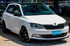 2017 SKODA Fabia 81TSI Monte Carlo Auto MY17 Automatic