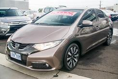 2014 Honda Civic VTi-LN Auto MY14 Automatic