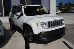 2015 Jeep Renegade Limited Auto MY15 Automatic