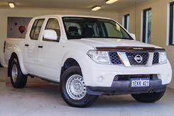 2013 Nissan Navara RX D40 Series 7 Auto 4x4 Dual Cab Automatic