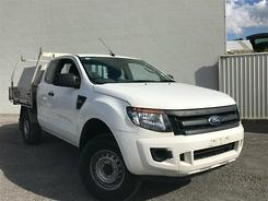 2014 Ford Ranger XL Hi-Rider PX Auto 4x2 Double Cab Automatic