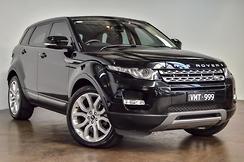 2013 Land Rover Range Rover Evoque SD4 Pure Tech Auto 4x4 MY13.5 Automatic