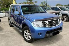 2012 Nissan Navara ST D40 Series 6 Auto 4x4 Dual Cab Automatic
