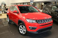 2017 Jeep Compass Longitude Auto FWD MY18 Automatic