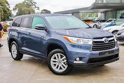 2016 Toyota Kluger GX Auto 2WD Automatic
