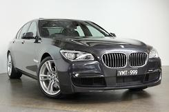 2014 BMW 740i F01 LCI Auto MY14.5 Automatic