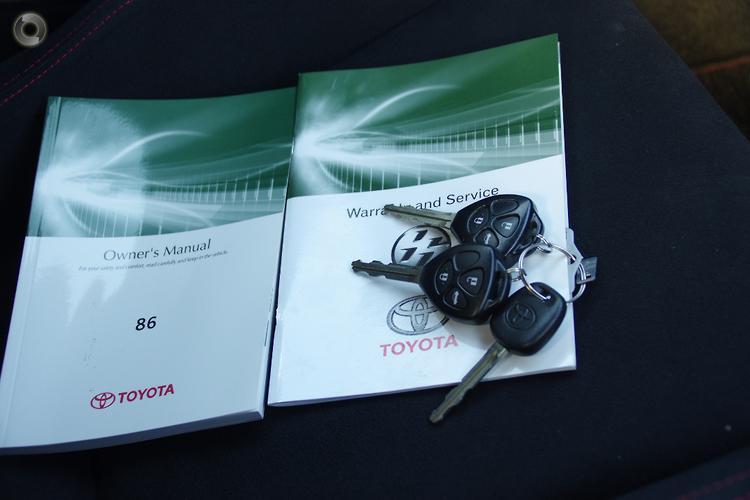 2014 Toyota 86 GT Manual MY14