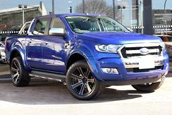 2016 Ford Ranger XLT PX MkII Auto 4x4 Double Cab Automatic