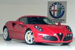 2015 Alfa Romeo 4C Auto Automatic