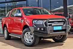 2015 Ford Ranger XLT PX MkII Auto 4x4 Double Cab Automatic