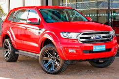 2016 Ford Everest Trend UA Auto 4WD Automatic