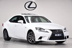 2016 Lexus IS200t F Sport Auto Automatic