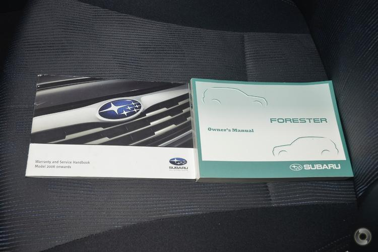2009 Subaru Forester XS S3 Manual AWD MY10