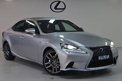 2015 Lexus IS300h F Sport Auto Automatic