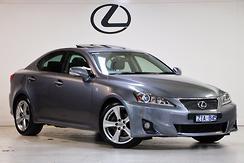 2012 Lexus IS250 X Auto MY11 Automatic