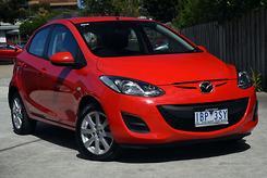 2013 Mazda 2 Neo Sport DE Series 2 Auto MY14 Automatic