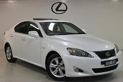 2007 Lexus IS250 Prestige Auto Automatic