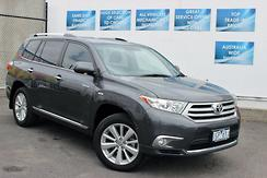 2012 Toyota Kluger Grande Auto 2WD MY12 Automatic