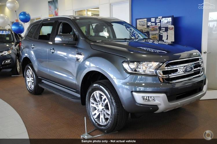 2016 Ford Everest Trend UA Auto RWD Automatic & 60 Used Cars for sale in Townsville QLD - Carmichael Ford markmcfarlin.com
