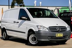 2012 Mercedes-Benz Vito 113CDI SWB Auto MY11 Automatic
