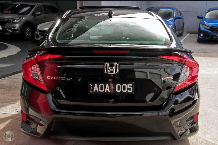 2016 Honda Civic RS Auto MY16