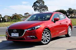 2016 Mazda 3 SP25 GT BN Series Auto Automatic