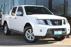 2013 Nissan Navara ST-X D40 Series 5 Auto 4x4 Dual Cab Automatic
