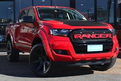 2016 Ford Ranger XLS PX MkII Manual 4x4 Double Cab Manual