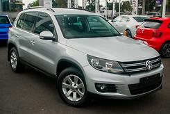 2014 Volkswagen Tiguan 103TDI Pacific 5N Auto 4MOTION MY14 Automatic
