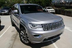 2017 Jeep Grand Cherokee Overland Auto 4x4 MY18 Automatic