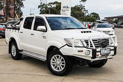 2013 Toyota Hilux SR5 Auto 4x4 MY14 Double Cab Automatic