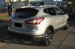 2017 Nissan QASHQAI Ti J11 Auto Automatic