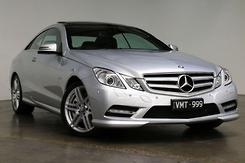 2012 Mercedes-Benz E500 BlueEFFICIENCY Avantgarde Auto MY12 Automatic