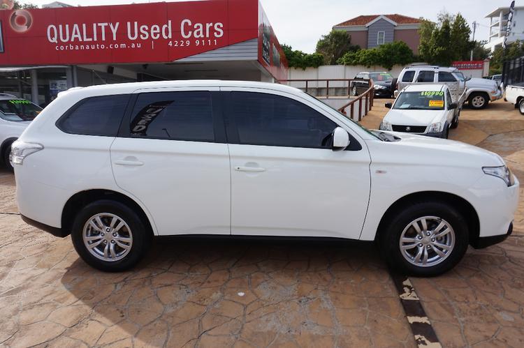 2013 Mitsubishi Outlander ES ZJ Auto 2WD MY13